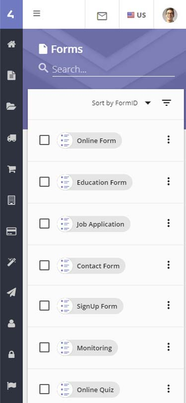 Store4 Forms Form Builder